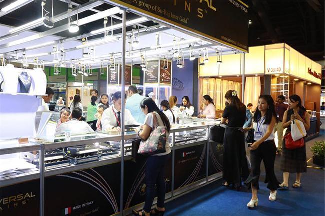泰国曼谷珠宝展,泰国展览设计搭建,泰国展台设计搭建