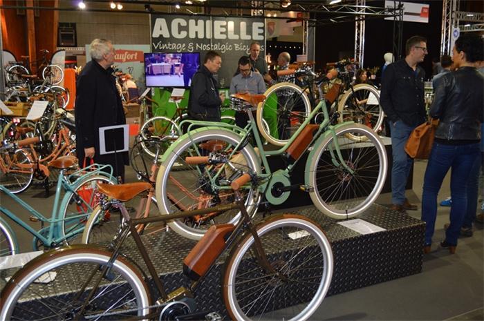 比利时自行车展,自行车展台设计,国外展览设计搭建