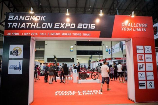 泰国展览设计,泰国自行车展,泰国展台设计搭建
