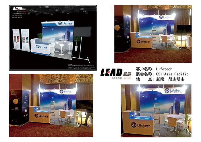 exhibition booth design company , Vietnam exhibition design , exhibition stand builder