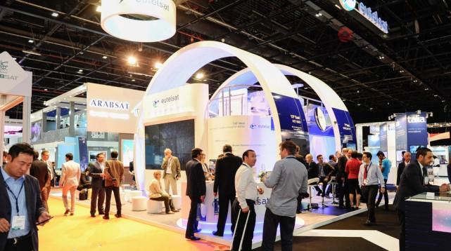 2019CABSAT、迪拜广播电视展台设计、迪拜广播展位搭建